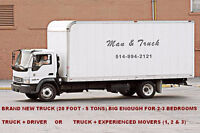 CAMION et CHAUFFEUR - TRUCK and DRIVER 514-994-2121