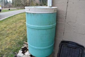 200L Plastic barrel