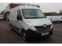 2016 Renault Master MM33dCi 125 Business Medium Roof Van Diesel silver Manual