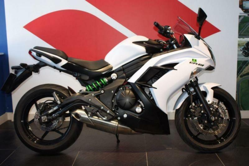 2016 65 KAWASAKI ER-6F WHITE ***LOW MILEAGE***