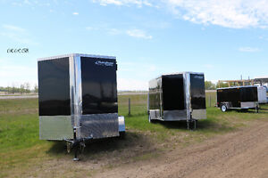 SPECIAL SALE on RAINBOW enclosed and flatdeck trailers, canopies