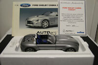 AUTOART 1/18 FORD SHELBY COBRA CONCEPT IN SILVER