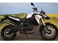 BMW F800GS **ABS, Heated Grips, Braided Hoses**