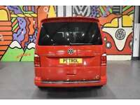 VW TRANSPORTER T6 T30 SWB 2.0TSI 204 DSG HIGHLINE KOMBI SPORTLINE PK CHERRY RED