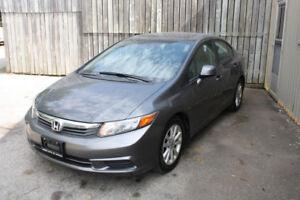 2012 Honda Civic Sedan EX-L   Leather   HTD Seats   Safetied
