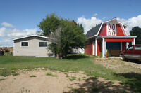 Property for sale 14 km west of Melfort