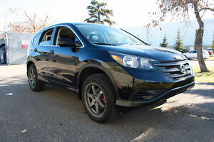2013 Honda CR-V with remote starter and winter tires