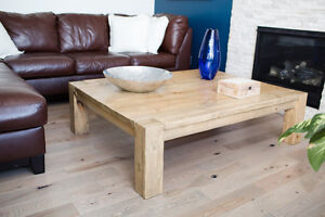 Rustic Custom-Built Coffee Tables, End Tables & Console Tables