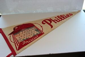 1960 Philadelphia Phillies Team Photo Pennant (VIEW OTHER ADS)
