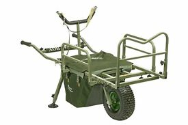 Prestige Carp Porter MK2 Fatboy Fishing Barrow,FREE BAG, ELASTICS, SPARES KIT