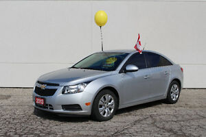 2013 Chevrolet Cruze LT Sedan**Factory Powertrain Warranty**