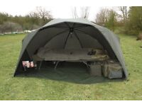 Fox supa brolly mk1 with. Overwrap