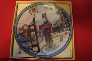 decorative asian ZHAO HUIMIN RED MANSION PLATEs Kingston Kingston Area image 3