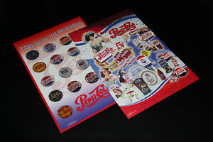 2X PEPSI-COLLECTION-POSTERS (NEUF/NEW)
