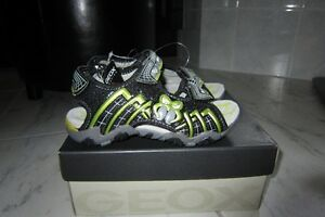 Geox Boys Sandals, Flashing lights-size11(US)or29(EUR) NEW!