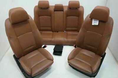 10-12 BMW 750LI Front Left Right Bucket Seats Rear Left Right Seats Leather