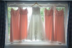 White Wedding Dress Size 0-4