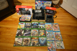 Nintendo Switch, Gameboy3DS, WiiU & Jeux XboxOne