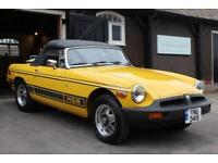 1978/S MGB ROADSTER 3 SPD AUTO YELLOW