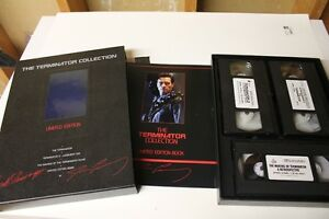 The Terminator (I & II) VHS Limited Edition Movie Set London Ontario image 2