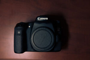 Canon 70D + Accessories