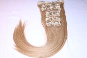 Real Human Remy Hair - 2 Tone Blonde (Highlight)