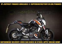 2017 17 KTM DUKE 125 125CC 0% DEPOSIT FINANCE AVAILABLE