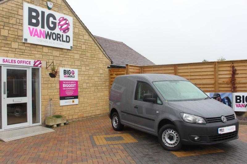 2012 VOLKSWAGEN CADDY C20 TDI 102 BLUEMOTION PANEL VAN DIESEL