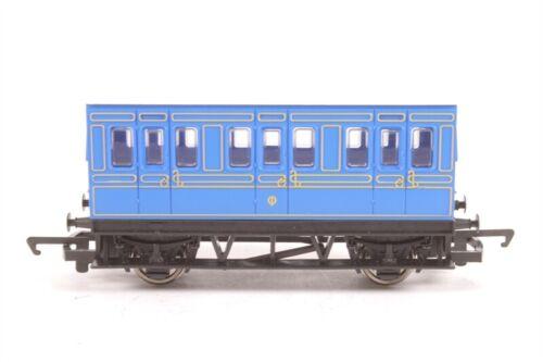 HORNBY Blue Four 4 Wheel SWB Passenger Coach OO 00 GAUGE