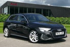 image for 2020 Audi A3 Sportback S line 35 TFSI  150 PS 6-speed Hatchback Petrol Manual