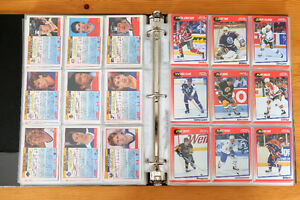 1991-92 Score - Cartable de cartes de hockey