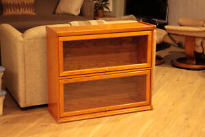 """Glass Front """"Barrister"""" Bookcase"""