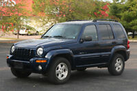 2003 Jeep Liberty Limited SUV, $3500, AS IS!
