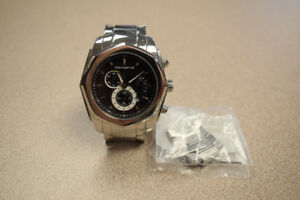 Michael Hill Men's Chrono Stainless Steel Watch w/ Links #214