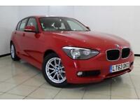 2013 63 BMW 1 SERIES 1.6 116D EFFICIENTDYNAMICS 5DR 114 BHP DIESEL