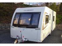 2014 Lunar Clubman SB 4 berth caravan