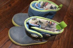 Rain boots, size 10, Crocs