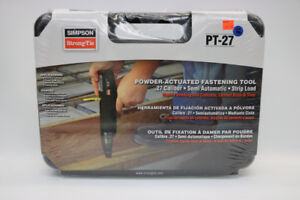 **POWER ACTUATED** StrongTie Model PT-27 Fastening Tool (#16845)