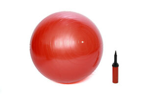 Yoga Balls and Yoga Mats in different sizes and colours