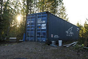 40 foot storage container.