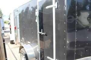 2016   enclosed 5x8 Trailer like new