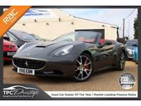 2010 10 FERRARI CALIFORNIA 4.3 2 PLUS 2 2D AUTO 460 BHP