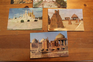 Box Lot of Vintage Postcards Including NYC w. Twin Towers London Ontario image 3