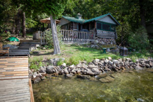Charleston Lake Rental Cottage- Hodge Podge Lodge.