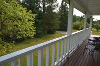 Goulais River Home on  4 Acres