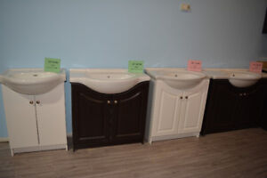 Bathroom Vanity Starting from $89 including Sink
