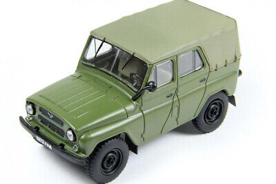 UAZ 469 USSR 4x4 army car  1:43 Nash Avtoprom P301a for sale  Shipping to United States