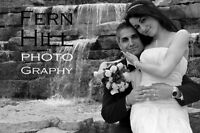 Fern Hill WEDDING Photography from $350 to $950