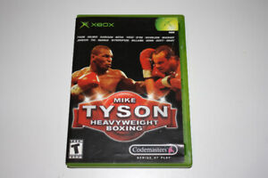 Mike Tyson Xbox game with booklet in excellent condition