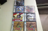 jeux pokemon  zelda nintendo  as vendre lot ou separer